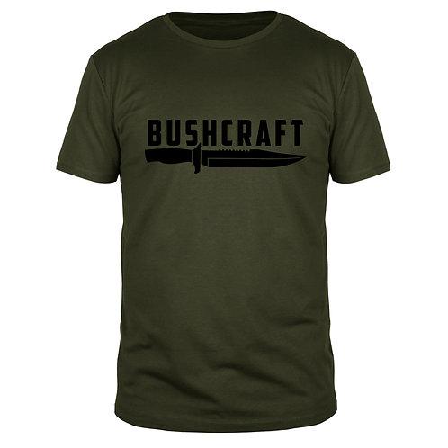 Bushcraft Messer - Männer T-Shirt