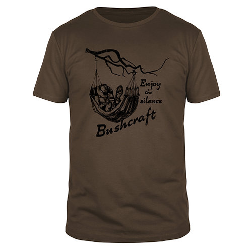 Bushcraft - Enjoy the silence - Männer T-Shirt