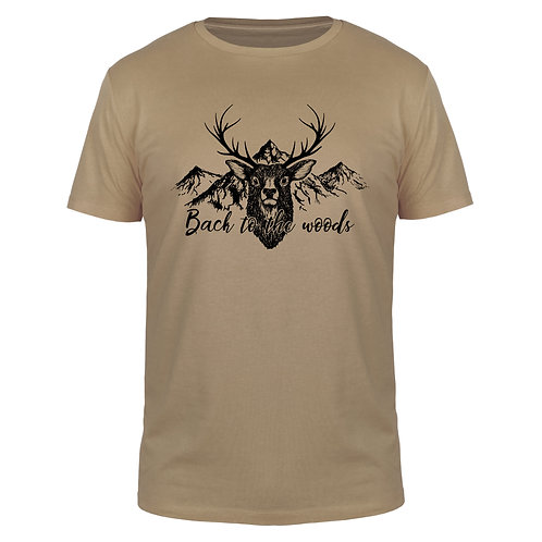 Back to the Woods - Männer T-Shirt