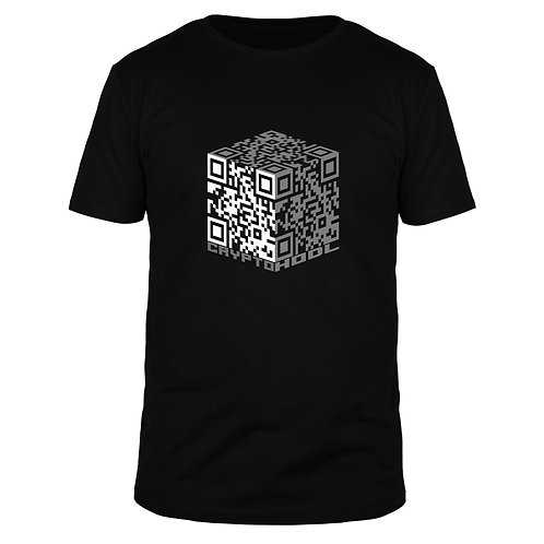 Crypto QR Box - Männer T-Shirt