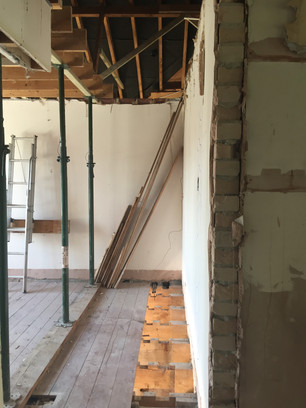 Internal structural works