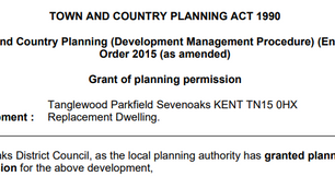 Planning Granted!