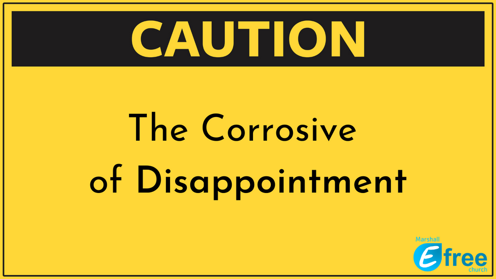 The Corrosion of Disappointment
