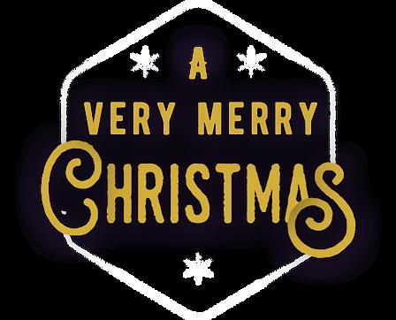 Church Christmas Party Text Logo (Edited