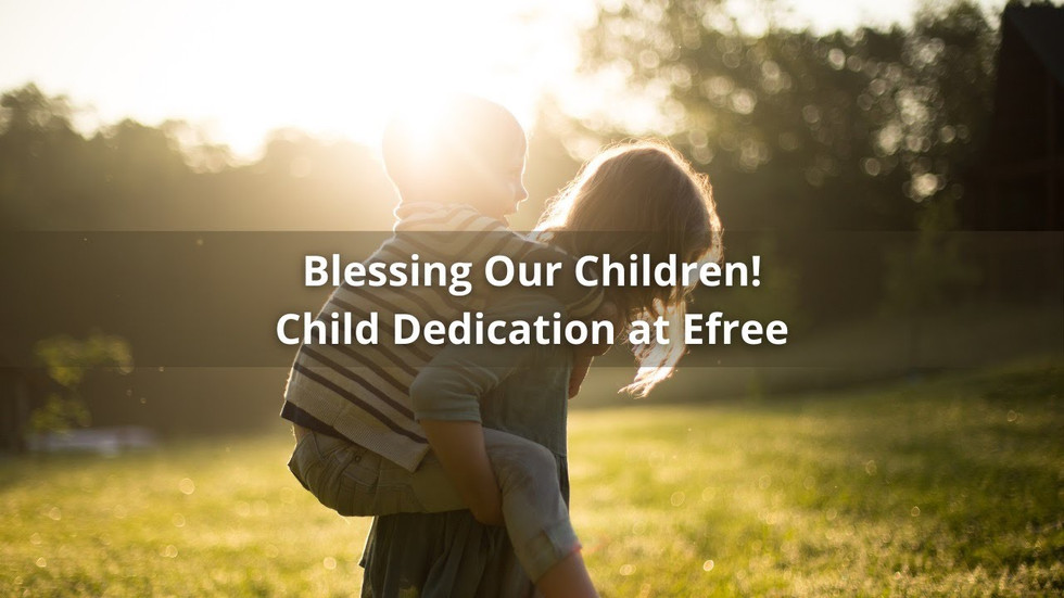 Blessing Our Children!