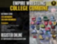 Empire Wrsetling Academy College Combine
