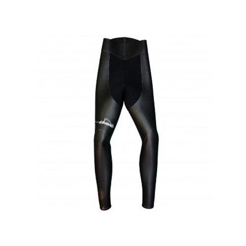 B2 Pantalon Refendu - Lisse NOIR