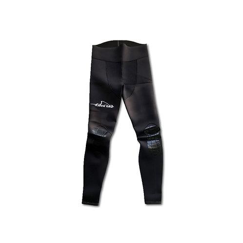 A2 Pantalon Refendu - Lycra NOIR