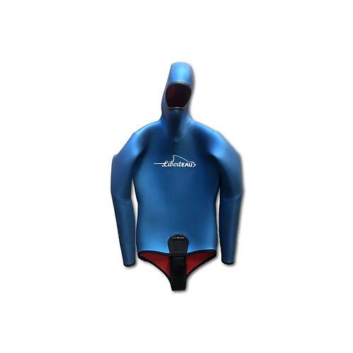 E1 Veste Compétition Super Lisse BLUE