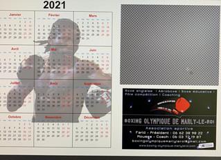 ♦ Aperçu du Calendrier 2021 de Hassam Ndam