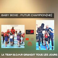 ♦ La Baby Boxe au Boxing Olympique de Marly-le-Roi