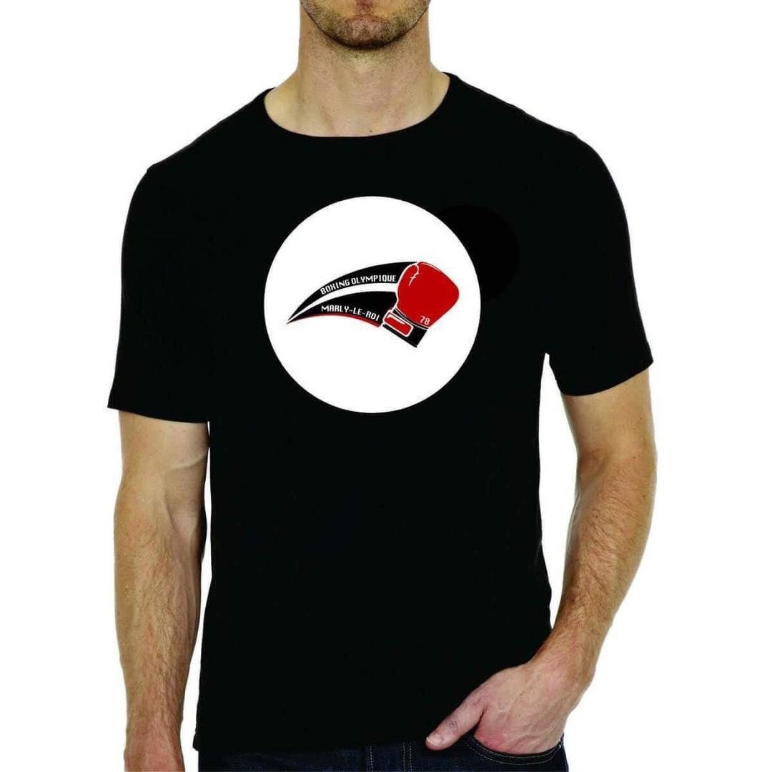 T-shirt noir face Team BOMR