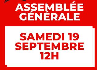♦ Samedi 19 septembre Assemblée Générale du BOMR