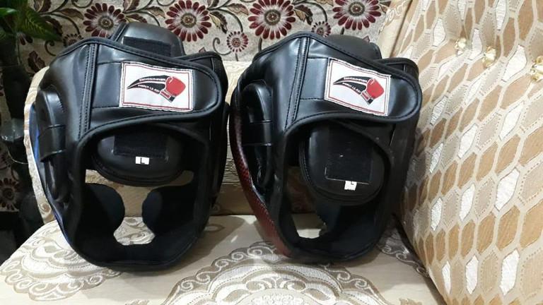 Casques de boxe
