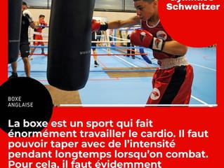 ♦ Le sac de frappe, le meilleur allié du boxeur