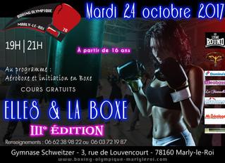 ♦ Mardi 24 octobre 2017 | Soirée Elles & la Boxe III° Edition
