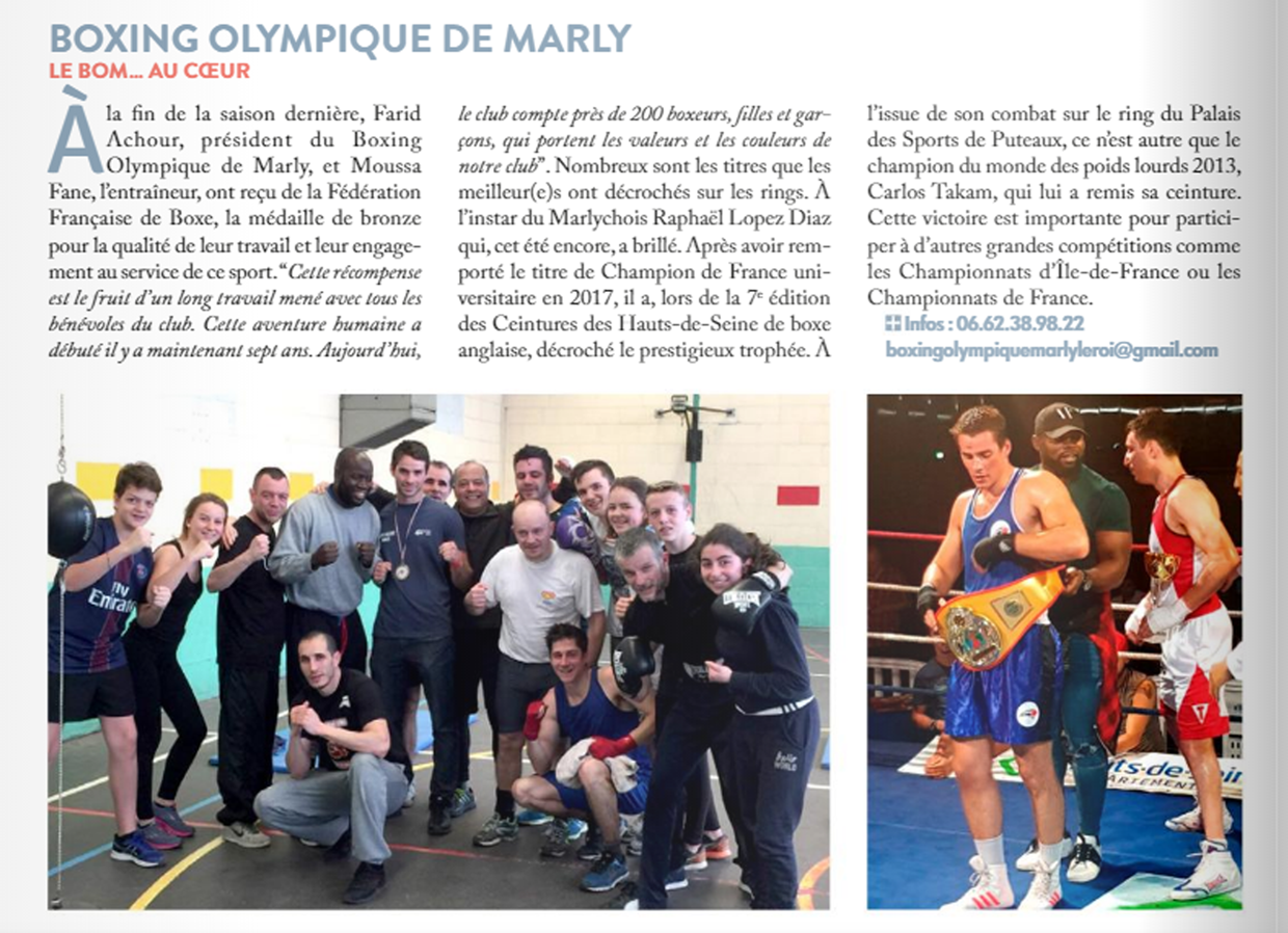 Chronique de Marly N°112 Decembre 2018