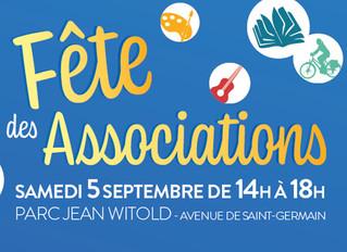 ♦ Samedi 5 septembre 2020          BOMR au Forum des Associations de Marly-le-Roi