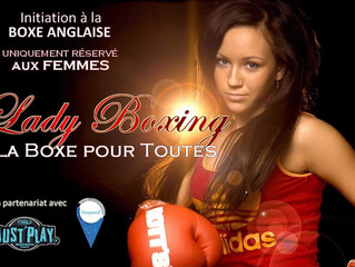 ♦ Samedi 20 Avril 2019 | Lady Boxing de 13H à 16H