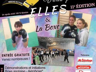 ♦Samedi 1er octobre 2016 -Elles & la Boxe, II° Edition