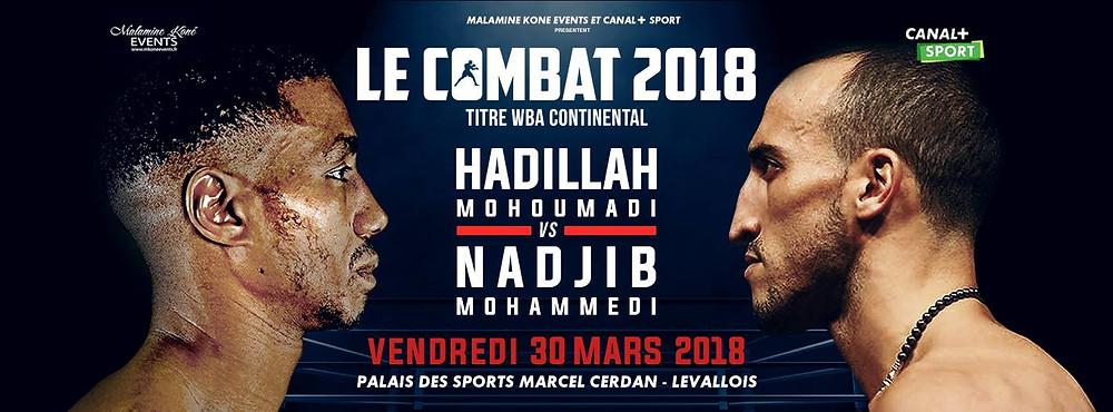 Le combat 2018 | Vendredi 30 mars 2018 à Levallois