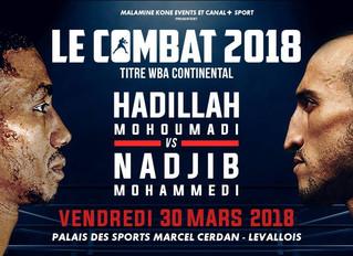 ♦ Le combat 2018   Vendredi 30 mars 2018 à 17h à Levallois
