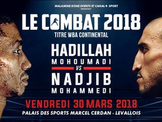 ♦ Le combat 2018 | Vendredi 30 mars 2018 à 17h à Levallois