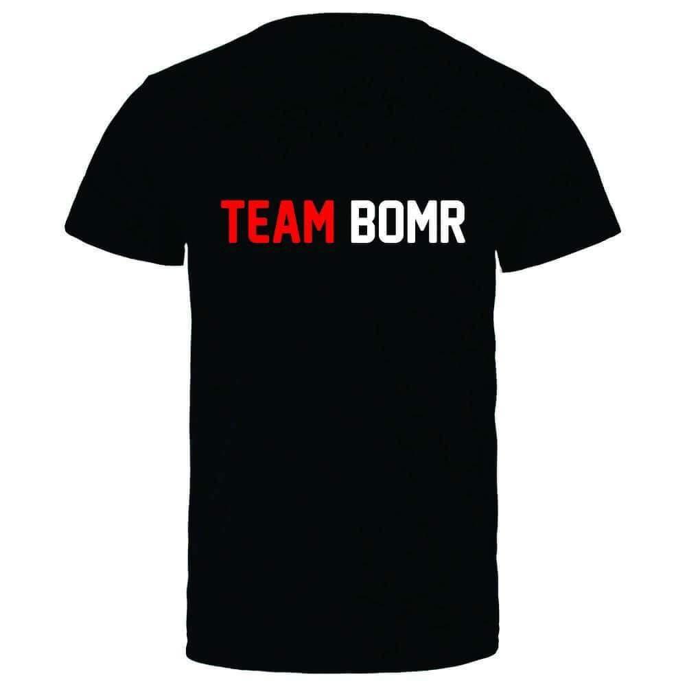 T-shirt noir dos Team BOMR