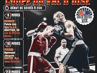 ♦ 9, 16 et 23 Mars 2019 | 7° Edition de la Coupe du Val d'Oise