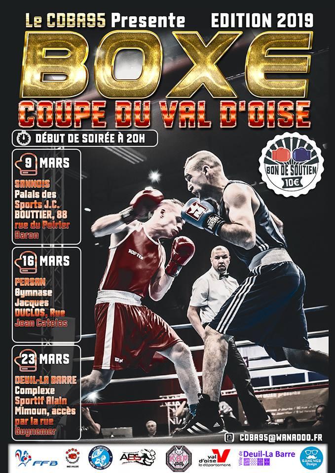 Coupe du Val d'Oise  9, 16 et 23 Mars 2019