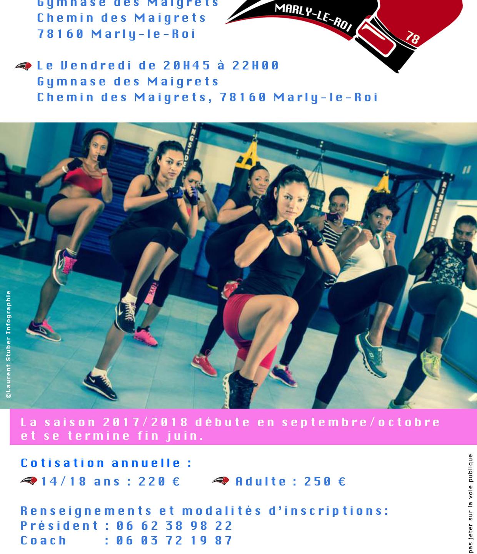 Verso brochure Aéroboxe 2019/2020