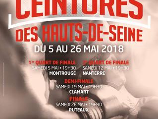 ♦ Samedi 26 Mai 2018 | Finale de la 7° Edition des Ceintures des Hauts-de-Seine | Hall des Sports à
