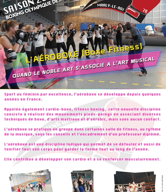 Recto brochure Aéroboxe 2019/2020