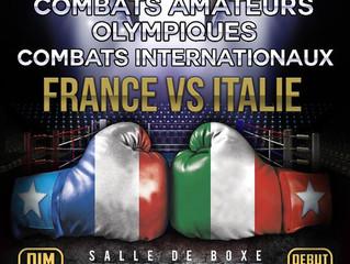 ♦ Dimanche 17 février à 12h00 | France vs Italie