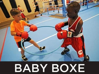 ♦ Les cours de Baby Boxe au BOMR