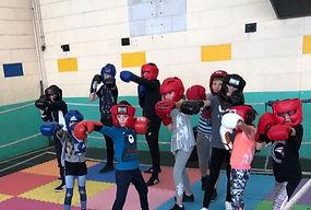Cours de boxe éducative assaut