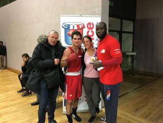♦ Dimanche 13/11/16 : Victoire de Henri-Baptiste MARJAULT en 1/4 de finale du championnat I.D.F. Re