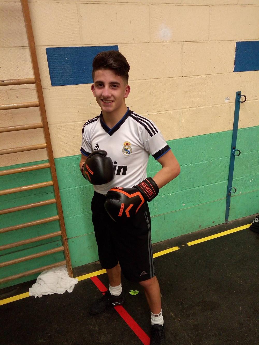 Gabriel Seghiri catégorie junior - 52kg.