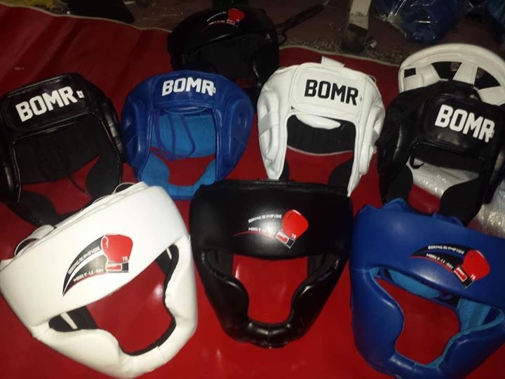 Casques Boxing Olympique de Marly-le-Roi
