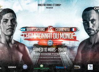 ♦ Championnat du Monde WBA | Samedi 10 Mars 2018 à 19H à la Seine Musicale