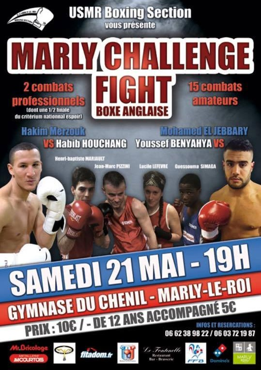 Affiche Marly Challenge Fight