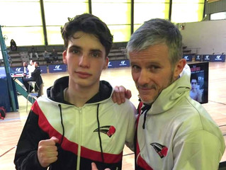 ♦ Tudy Heriou perd 1/4 de finale | Challenge du 1er round