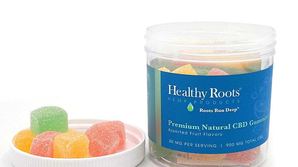 Premium Natural CBD Gummies 900 MG