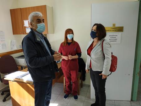 Επισκέψεις στα Κέντρα Υγείας Σερβίων και Σιάτιστας