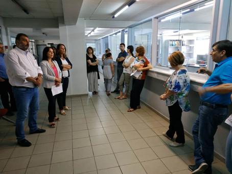Επίσκεψη στην ΔΟΥ Κοζάνης - Κοινοβουλευτική ερώτηση για τα μέτρα προστασίας εργαζομένων & πολιτών