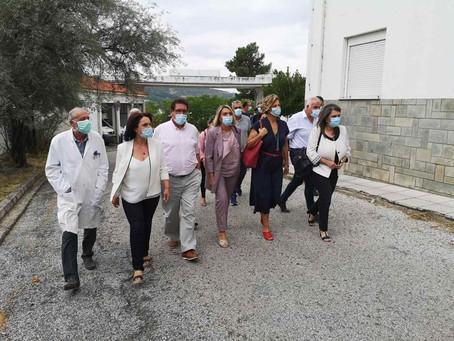 Παράδοση ιατρικού εξοπλισμού και μηχανημάτων από την Κ.Ο. του ΣΥΡΙΖΑ στο Γενικό Νοσοκομείο Καστοριάς