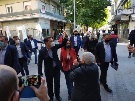 """""""Απόλυτα παραγωγική και γόνιμη η επίσκεψη του Αλέξη Τσίπρα στην Κοζάνη"""""""
