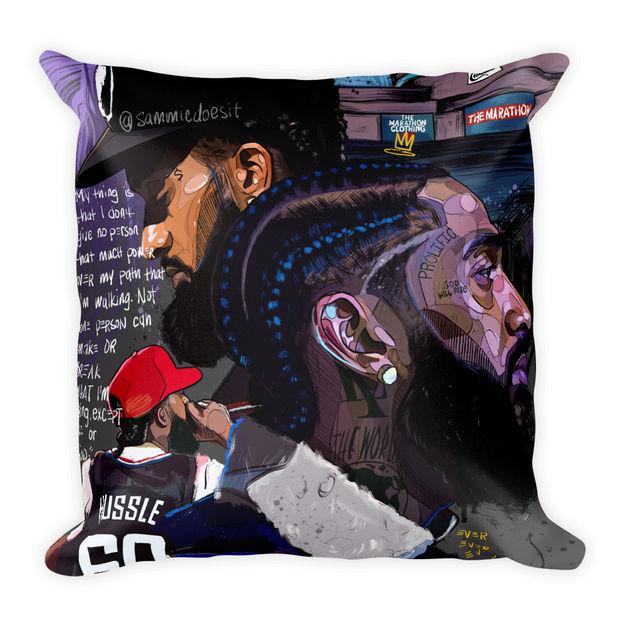 Hussle Pillow