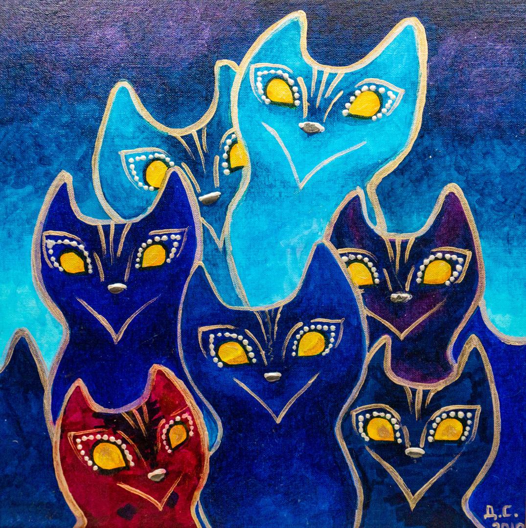 Психоделические коты