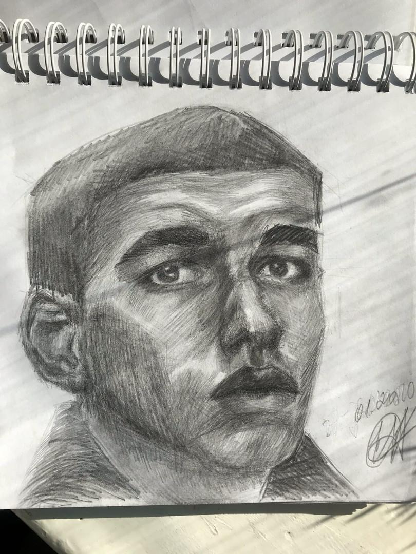 "Портрет ""Сами Уталбали"""